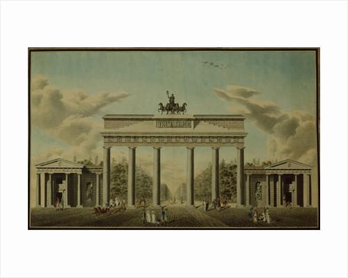 Brandenburg Gate by German School