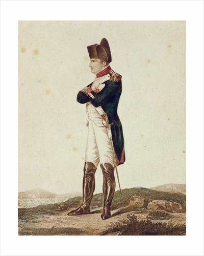 Napoleon Bonaparte as First Consul by German School