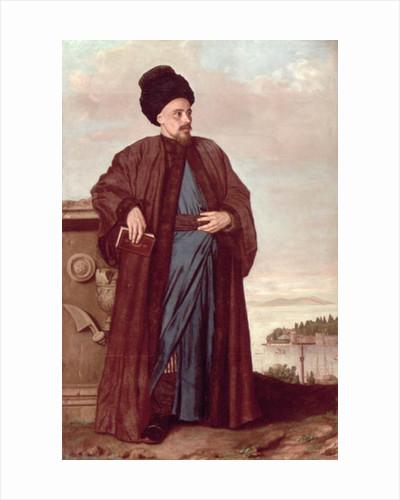 Richard Pococke in oriental costume by Jean-Etienne Liotard