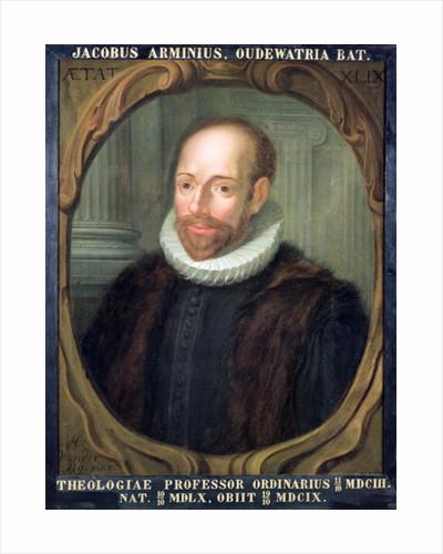 Jacobus Arminius, Professor of Theology at Leiden University by Anonymous