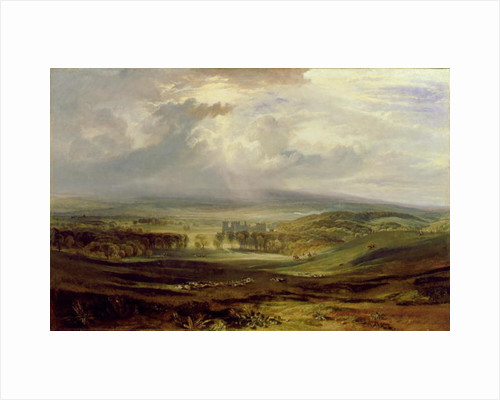 Raby Castle, the Seat of the Earl of Darlington, 1817 by Joseph Mallord William Turner