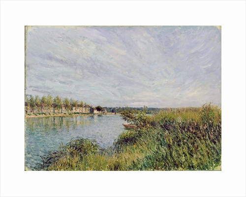 View of Saint-Mammes by Alfred Sisley