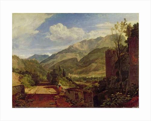 Chateau de St. Michael, Bonneville, Savoy by Joseph Mallord William Turner