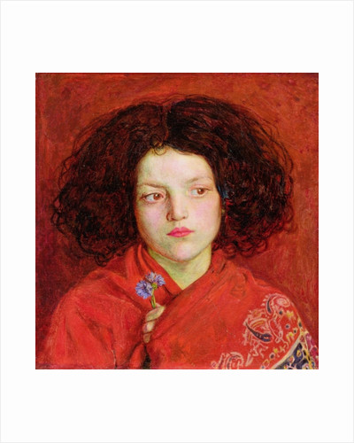 The Irish Girl by Ford Madox Brown