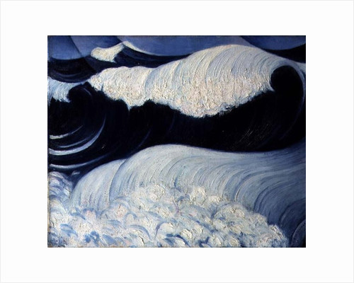 The Wave, 1917 by Christopher Richard Wynne Nevinson