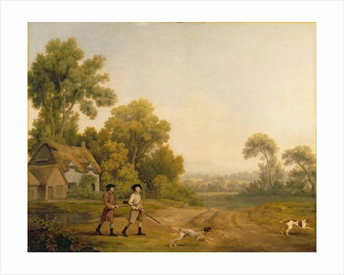 Two Gentlemen Going a Shooting by George Stubbs