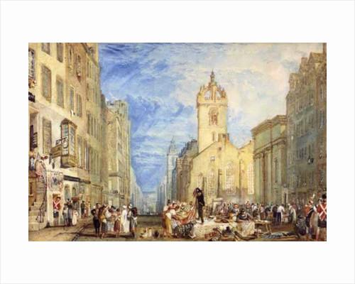 High Street, Edinburgh by Joseph Mallord William Turner