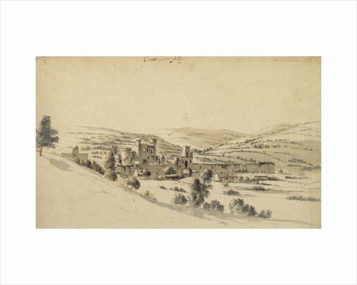Caerphilly Castle by Hendrick Danckerts