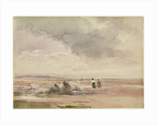 On Lancaster Sands, Low Tide by David Cox