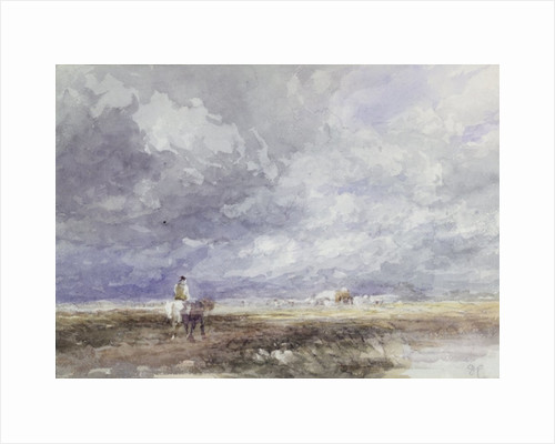 Going to the Hayfield by David Cox