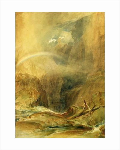 Devil's Bridge, St. Gotthard's Pass by Joseph Mallord William Turner