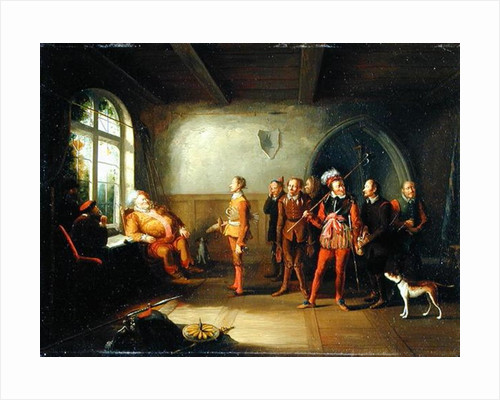 Falstaff and the Recruits by John Cawse