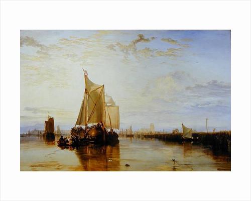 Dort or Dordrecht: The Dort Packet-Boat from Rotterdam Becalmed by Joseph Mallord William Turner