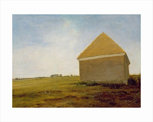 Newmarket Heath, with a Rubbing-Down House by George Stubbs