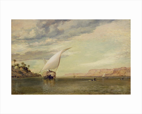On the Nile by Edward William Cooke