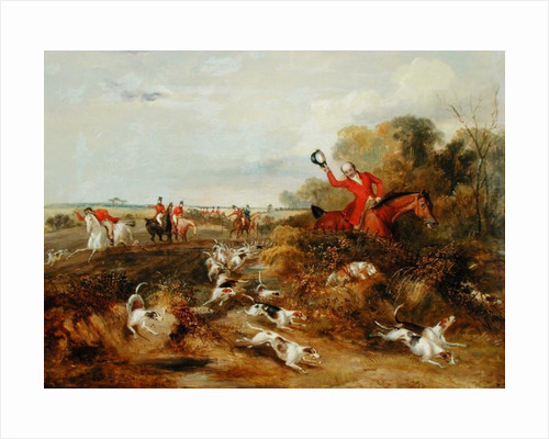 Capping on Hounds, Bachelor's Hall by Francis Calcraft Turner