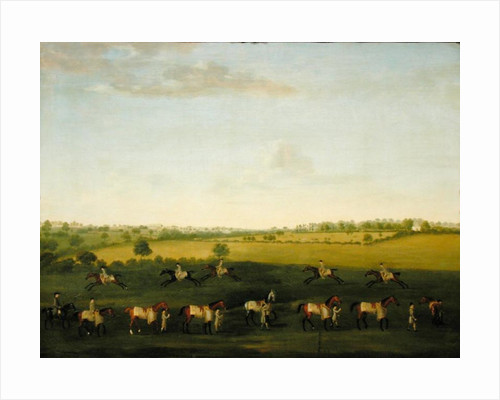 Sir Charles Warre Malet's String of Racehorses at Exercise by Francis Sartorius