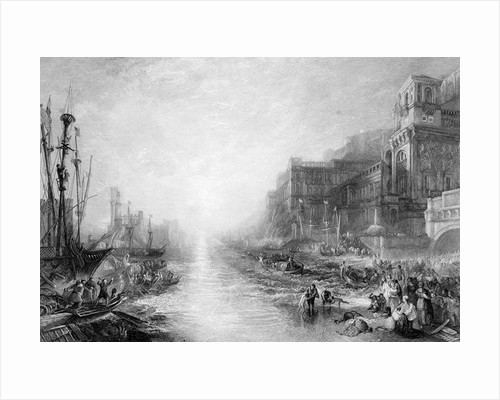 The Embarkation of Regulus, Ancient Carthage by Joseph Mallord William Turner