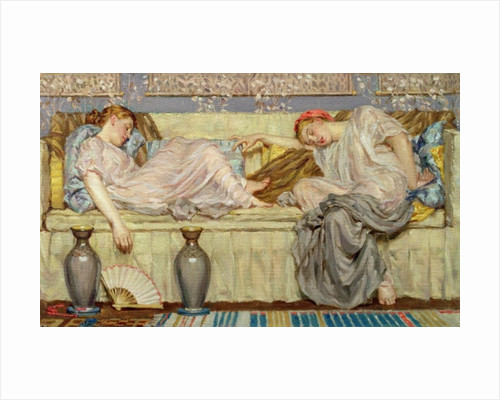 Beads (study) by Albert Joseph Moore