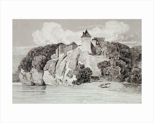 Castle at Tancarville by John Sell Cotman