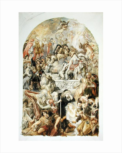Apotheosis of Shakespeare's Characters by Sir John Gilbert