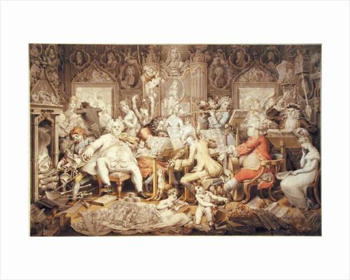 Amateurs of Tye-Wig Music by Edward Francis Burney