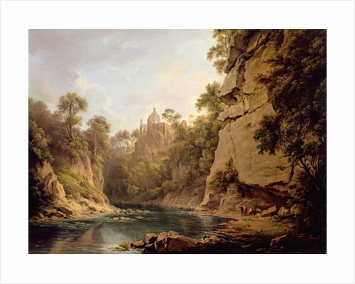 Hawthornden Castle, near Edinburgh by Alexander Nasmyth