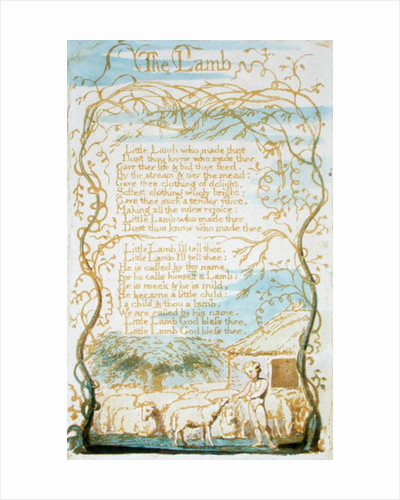 'The Lamb' by William Blake