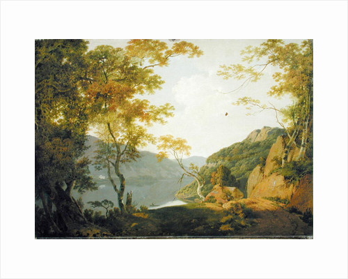 Lake Scene by Joseph Wright of Derby
