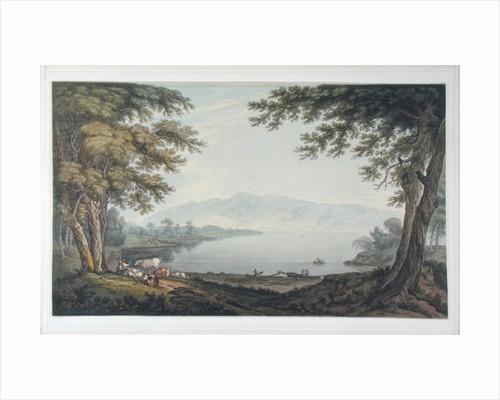 Skiddaw and Derwent Water by Joseph Farington