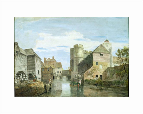 The Westgate, Canterbury by Paul Sandby