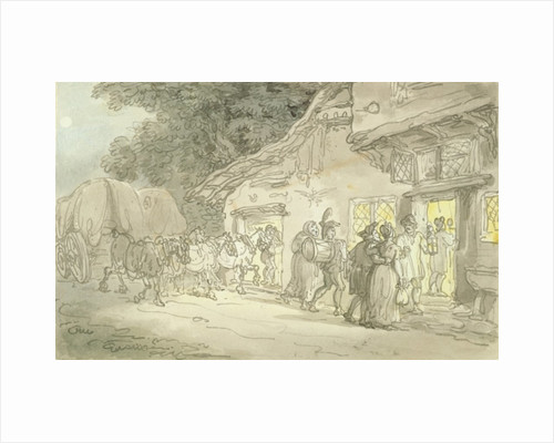 A Sporting Cove by Thomas Rowlandson