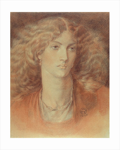 Head of a Woman, called Ruth Herbert by Dante Gabriel Charles Rossetti