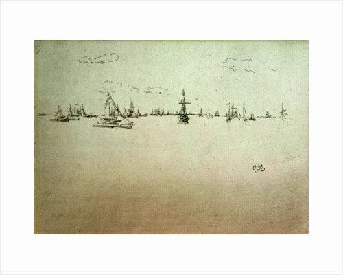 The Turret Ship by James Abbott McNeill Whistler
