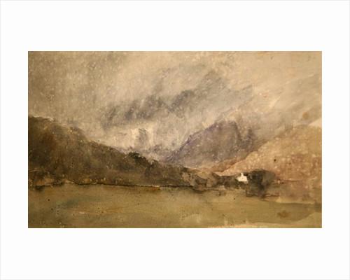 Capel Curig, Caernarvonshire, Wales by David Cox