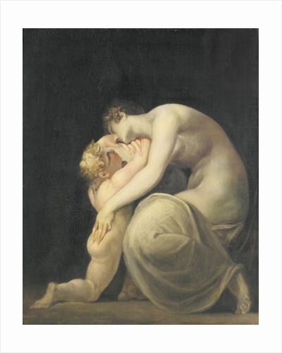Tekemessa and Eurysakes by Henry Fuseli