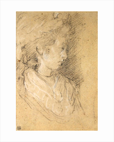 Study of a woman in a Mob Cap by Thomas Gainsborough