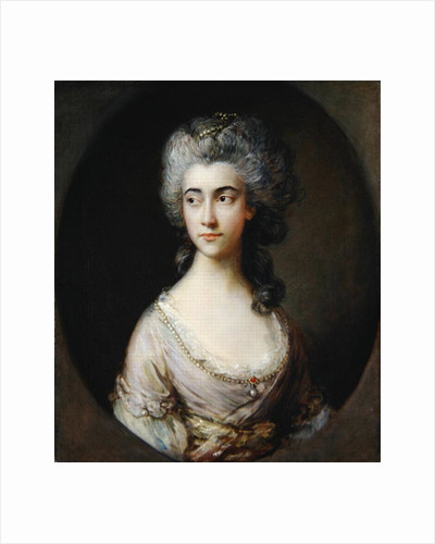 Mary Heberden, c.1777 by Thomas Gainsborough
