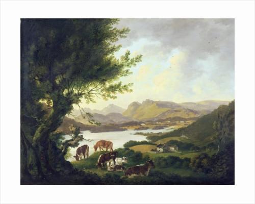 Lake Windemere by Julius Caesar Ibbetson