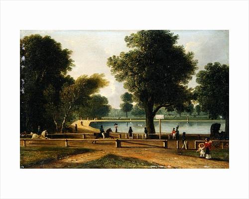 The Serpentine, Hyde Park by George Sidney Shepherd