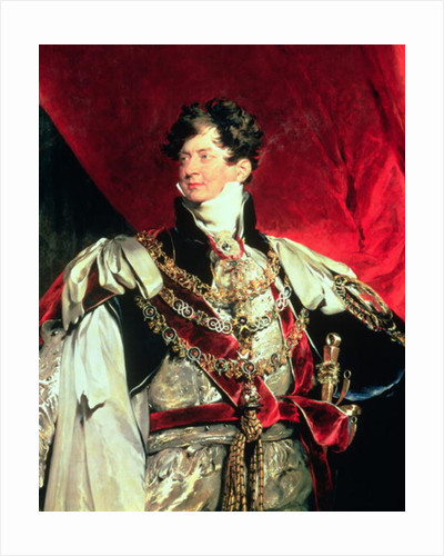 The Prince Regent, later George IV in his Garter Robes by Sir Thomas Lawrence