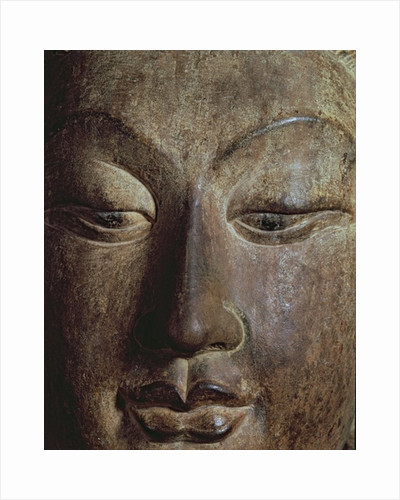 Head of a Bodhisattva by Chinese School