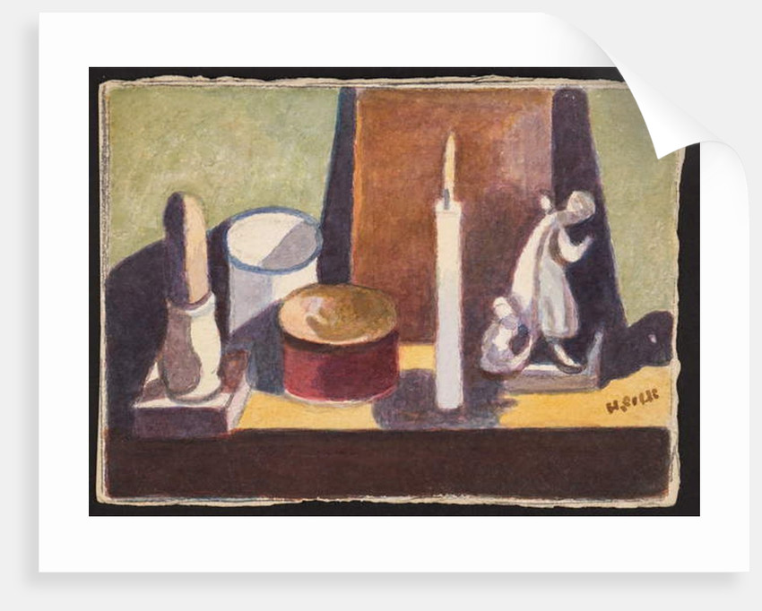 Cancel-lit mantelpiece, c.1930 by Henry Silk