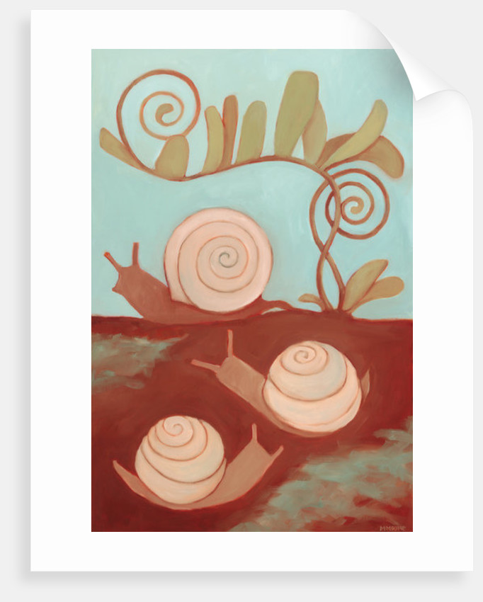 Snails & Fern by Megan Moore