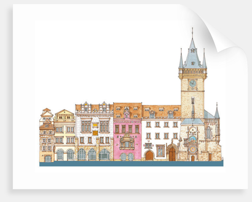Old Town Hall. Prague, Czech by Fernando Aznar Cenamor