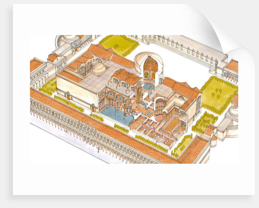 Caracalla baths, Rome by Fernando Aznar Cenamor