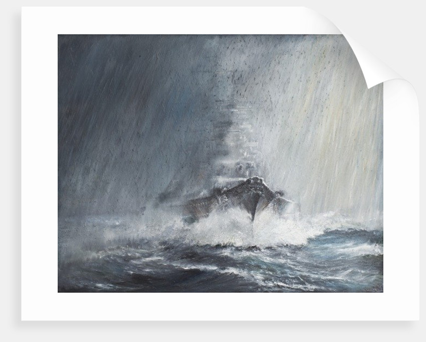 Bismarck 'through curtains of Rain Sleet and Snow' by Vincent Alexander Booth