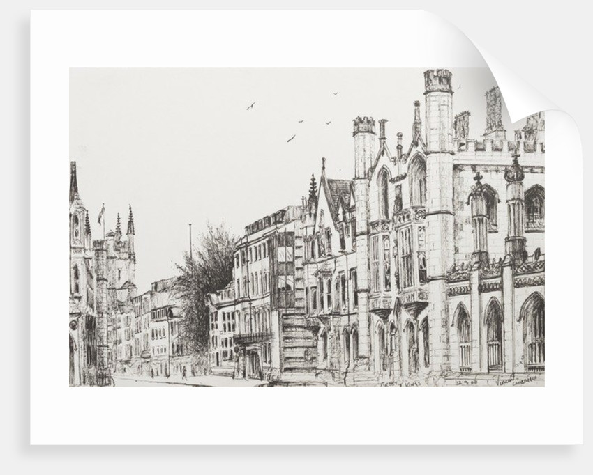 Kings College, Cambridge by Vincent Alexander Booth