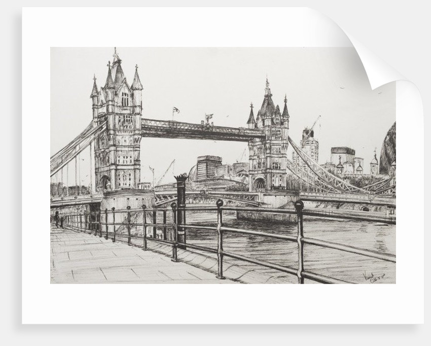 Tower Bridge, London by Vincent Alexander Booth