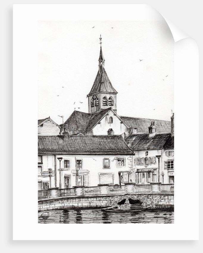 Laignes,France by Vincent Alexander Booth
